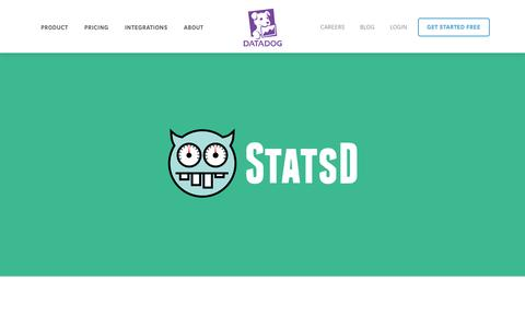 Screenshot of Blog datadoghq.com - StatsD, what it is and how it can help you - captured Dec. 6, 2016