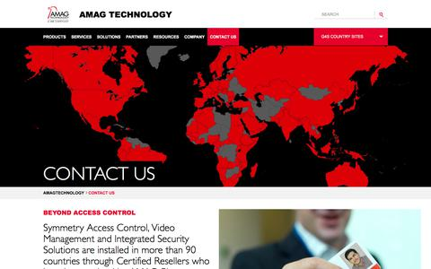 Screenshot of Contact Page amag.com - Contact Us - captured Sept. 20, 2017