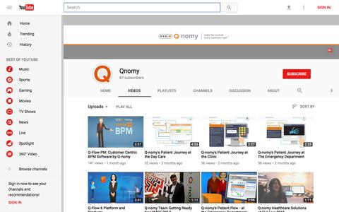 Qnomy - YouTube