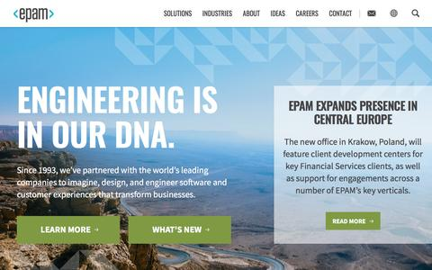EPAM | Software Product Development Services