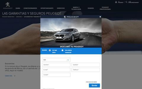 Seguros, Seguros Peugeot, presupuesto seguro