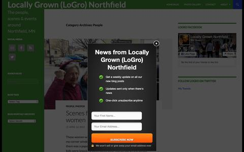 Screenshot of Team Page locallygrownnorthfield.org - People | Locally Grown (LoGro) Northfield - captured Dec. 8, 2018