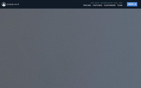 Screenshot of Pricing Page codeship.io - Pricing | Codeship - captured Nov. 4, 2014