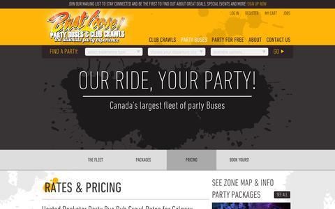 Screenshot of Pricing Page bustloose.com - Bust Loose - Pricing - captured Oct. 1, 2014