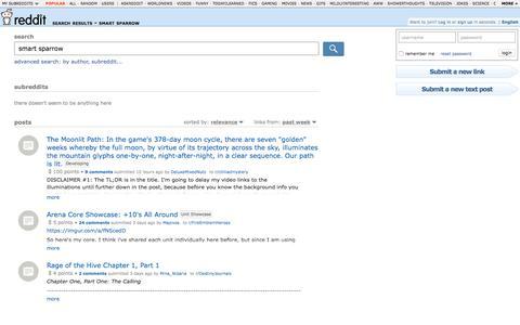 reddit.com: search results - smart sparrow