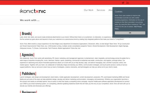 Screenshot of Developers Page ikonictonic.com - Brand, Agency, Business, Publisher, and Producer | Ikonic Tonic - captured Nov. 6, 2018