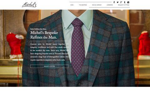 Michel's Bespoke: Toronto Bespoke Suits and Shirts