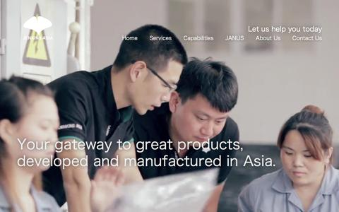 Screenshot of Home Page jenkins-asia.com - Jenkins Asia Limited - Let us help you today - captured Feb. 11, 2016
