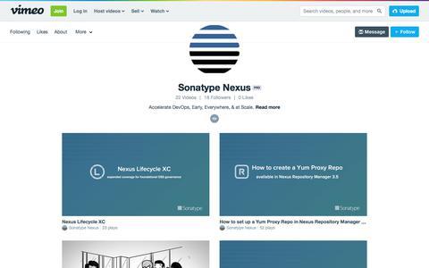 Sonatype Nexus on Vimeo