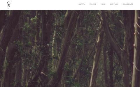 Screenshot of Home Page Team Page gravita.co - Gravita Creative Ltd   Creating lasting impressions - captured Oct. 3, 2014