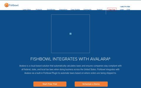 Avalara Inventory Management | Fishbowl