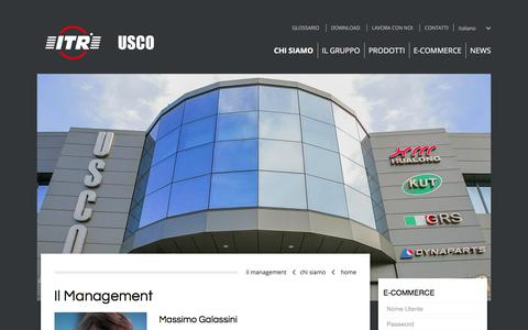 Screenshot of Team Page usco.it - ITR Usco | Il Management - captured Oct. 14, 2017