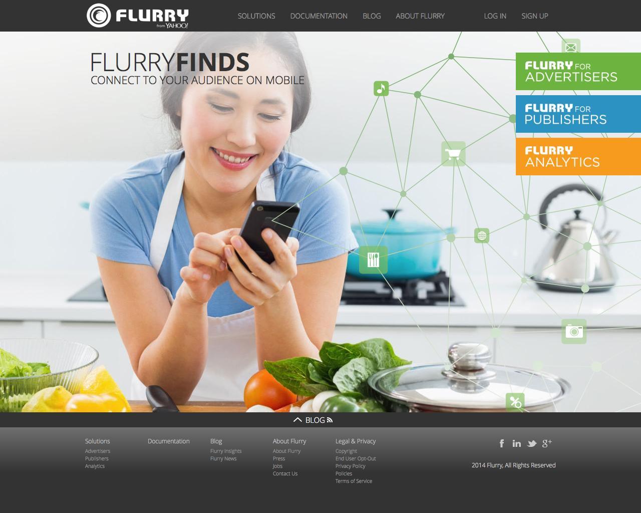 Screenshot of flurry.com - Flurry - captured Jan. 5, 2016