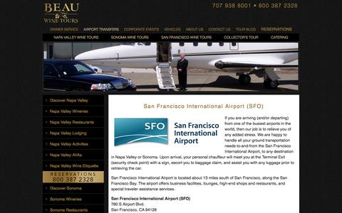 Transportation from San Francisco Airport to Napa Valley or Sonoma