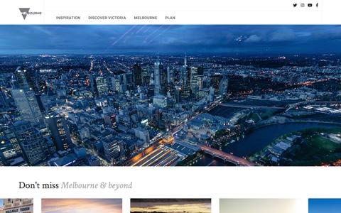 Screenshot of Home Page keralatourslane.com - Melbourne, Victoria, Australia - visitvictoria.com The official travel and accommodation site for Melbourne, Victoria, Australia - captured Feb. 14, 2018