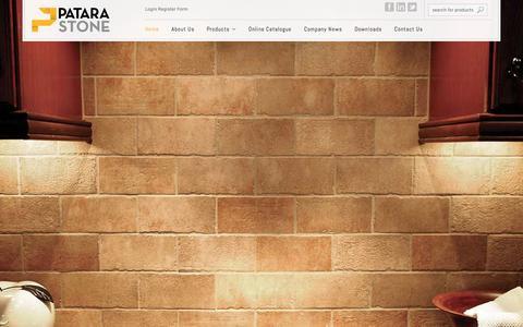 Screenshot of About Page cdetile.com - Patara Stone | Marble Travertine Tiles, Slabs, Cut to Sizes and Decos - captured Oct. 1, 2014