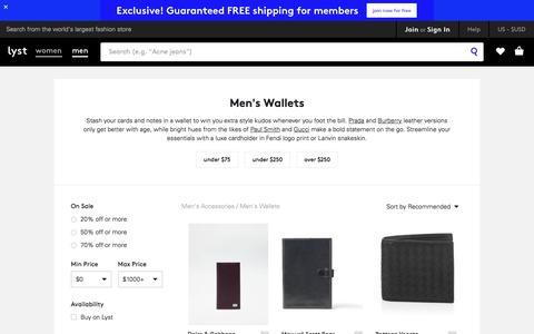 Wallets | Men's Wallets & Card Holders  | Lyst