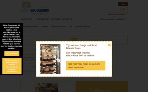 Screenshot of FAQ Page algistbruggeman.be - FAQ - Algist Bruggeman - captured Oct. 3, 2018