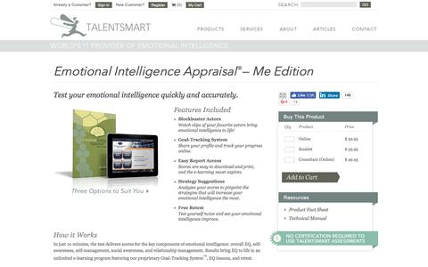 Emotional Intelligence Appraisal-Me Edition