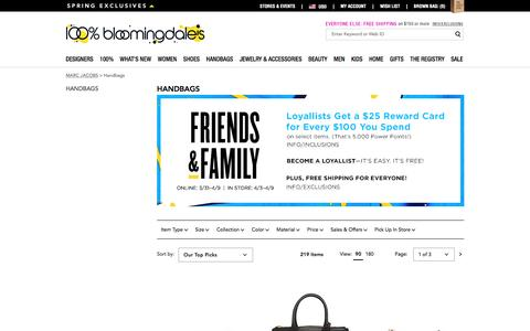 MARC JACOBS Handbags, Backpacks & More - Bloomingdale's