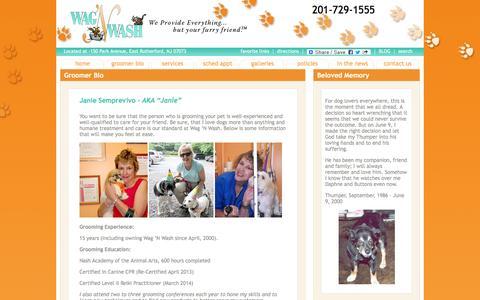 Screenshot of Terms Page wagandwash.com - Wag N Wash Best Pet Groomer NJ - Full Service Pet Salon - captured June 19, 2016