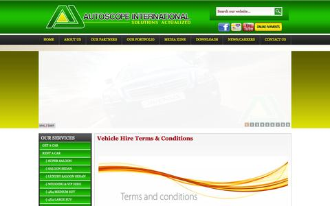 Screenshot of Terms Page autoscopeinternational.com - Autoscope Co. Ltd   Vehicle Hire Terms & Conditions - captured Feb. 5, 2016