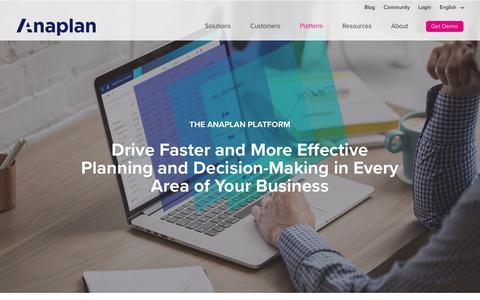 Anaplan | Planning and performance management platform