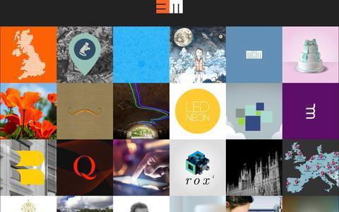 Screenshot of Home Page base-media.co.uk - Base Media - London based web designers - captured Jan. 27, 2015
