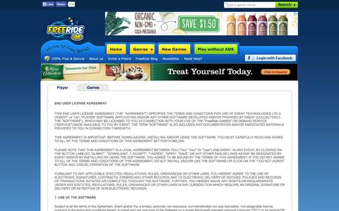 Screenshot of Terms Page freeridegames.com - Free Games - Download Free Games at FreeRide Games - captured Sept. 25, 2014