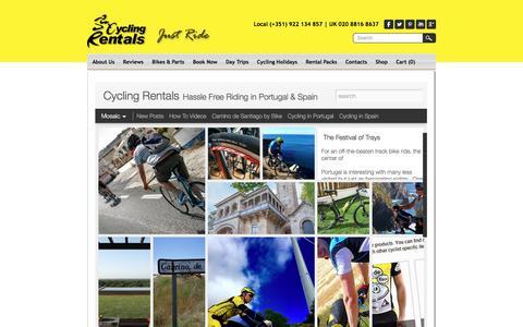 Screenshot of Blog cycling-rentals.com - Blog - News - Events | Cycling Rentals - Cycling Rentals - captured Dec. 14, 2015