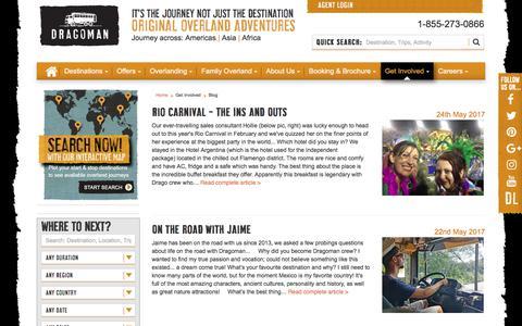 Screenshot of Blog dragoman.com - Blogs - captured June 5, 2017