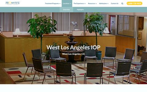 West Los Angeles IOP - Drug and Addiction Treatment Centers | Promises