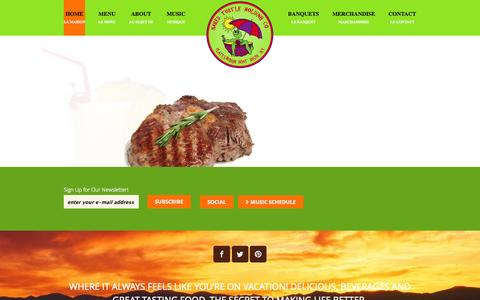 Screenshot of Home Page nakedturtle.net - The Naked Turtle Restaurant | Come out of Your Shell! - captured Oct. 9, 2014