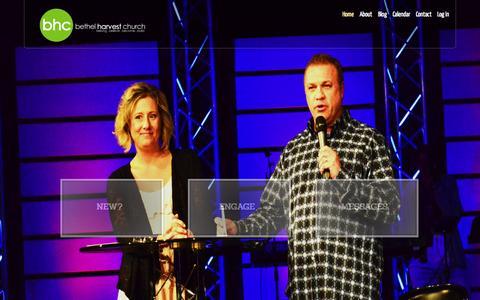 Screenshot of Home Page bethelharvestchurch.com - Bethel Harvest Church   Belong   Believe   Become   Build - captured Jan. 21, 2015