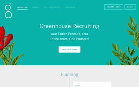 Recruiting Software Features | Greenhouse