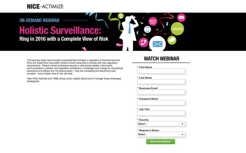 NICE Actimize - FMC - On-demand Webinar