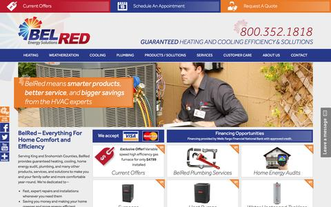 HVAC Installation & Repair - Bel Red Energy Solutions - Seattle WA