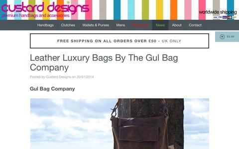 Screenshot of Press Page custarddesigns.com - Handbags & Accessories | Hobo the Original | Bohemia Designs | Tony Perotti - captured July 18, 2016