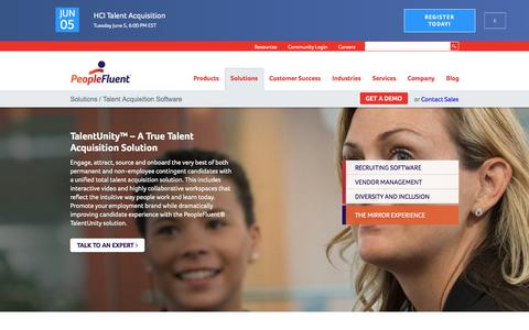 Talent Acquisition Software | PeopleFluent
