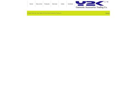 Screenshot of Products Page y2k.com.pk - Y2K Garments Accessories Trading Co. - captured Oct. 3, 2014