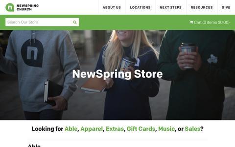NewSpring Store