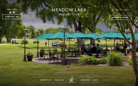 Screenshot of Team Page meadowlarkclub.com - Meet the Team - Meadow Lark Country Club - captured Oct. 18, 2017