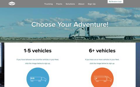 Screenshot of Signup Page bestpass.com - Bestpass Sign Up - captured Oct. 9, 2017