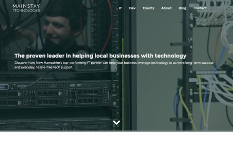 Mainstay Technologies - NH IT Services, Support & Development
