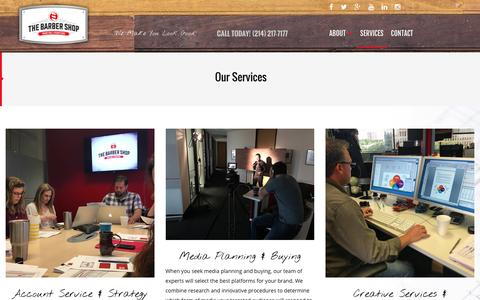 Services | THE BARBER SHOP MARKETING & PROMOTIONS
