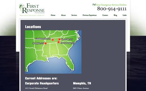 Screenshot of Locations Page frenvgroup.info - Locations | Frenvgroup - captured Oct. 6, 2014