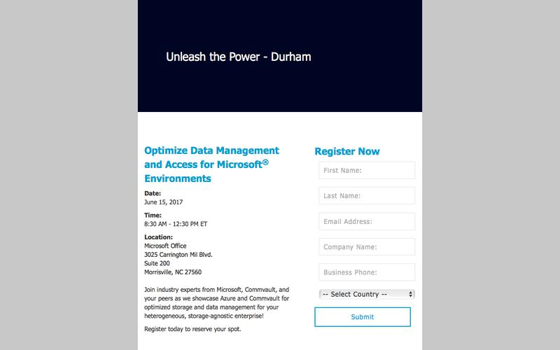 Unleash the Power | Durham