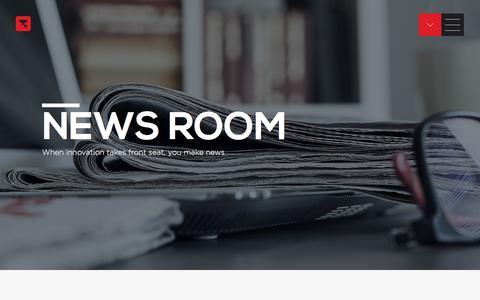 Screenshot of Press Page tanla.com - Enabling Cloud Communications.. - captured Sept. 24, 2018