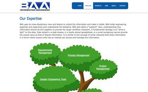 Screenshot of Services Page billaustin.com - SERVICES | Billaustin - captured Sept. 7, 2019