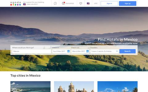 Mexico Hotels - Online hotel reservations for Hotels in Mexico